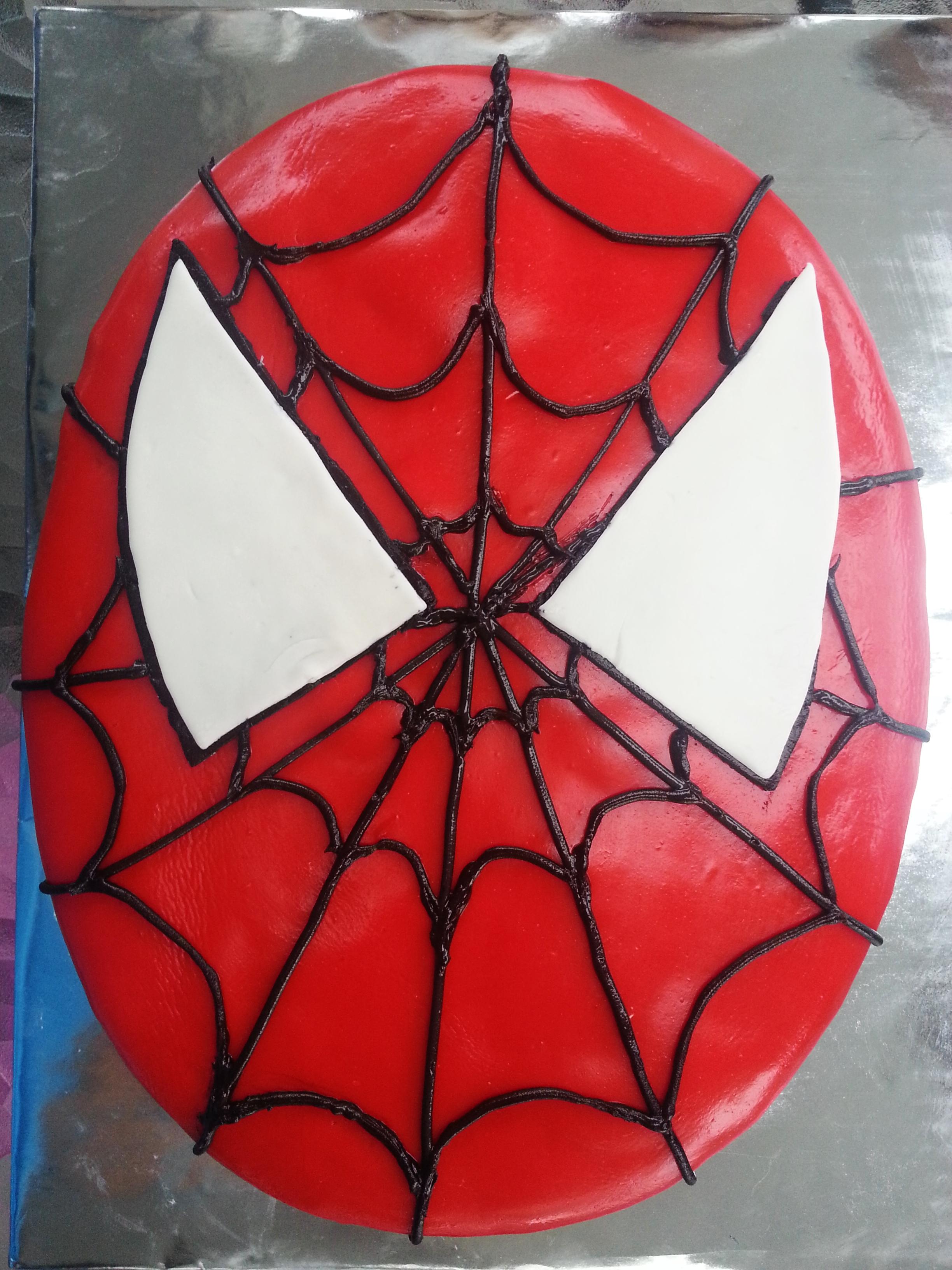 Spiderman Cake Chocolate Connie